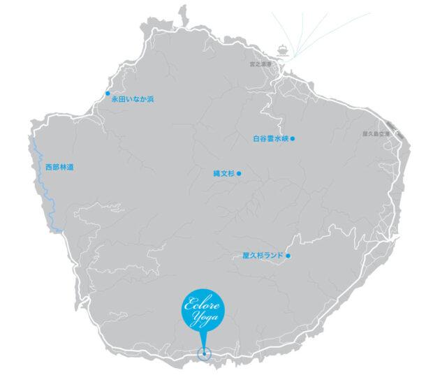 屋久島map