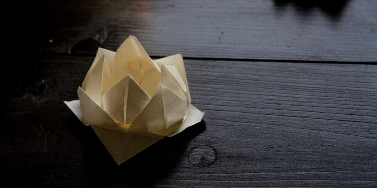 折紙瞑想: Silence