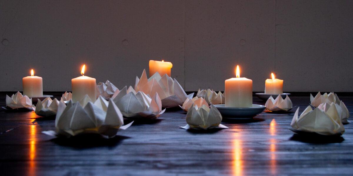 折紙瞑想: Lotus