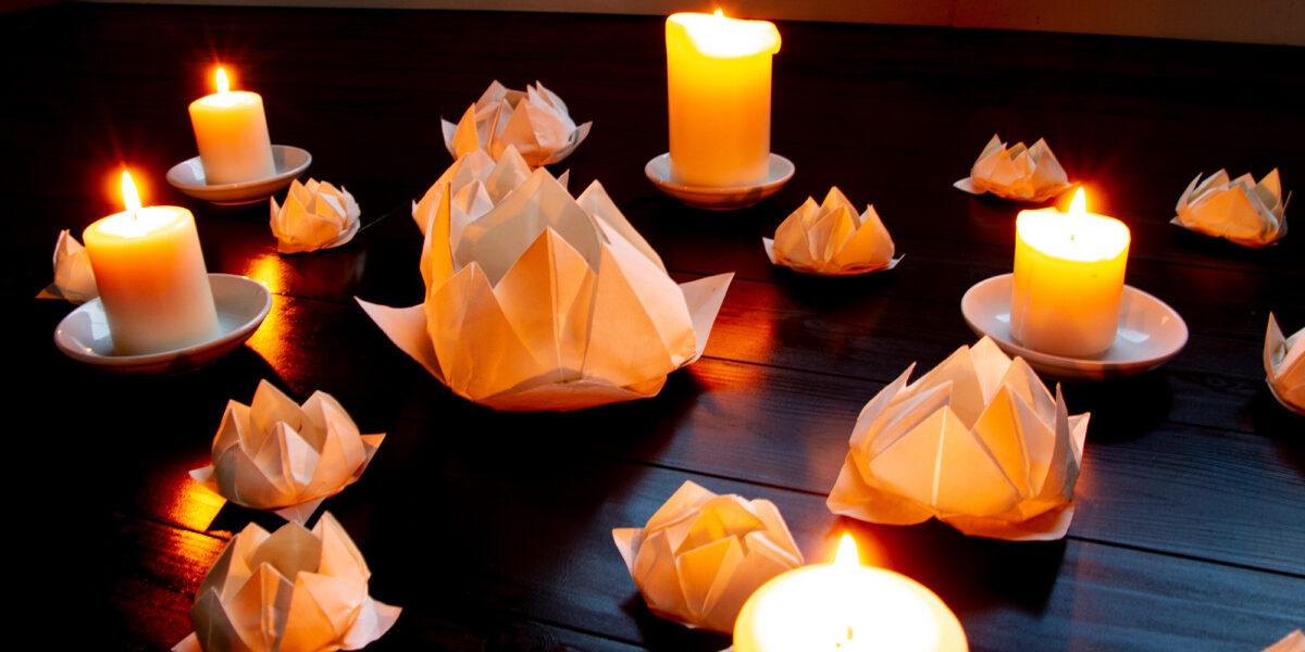 折紙瞑想: Gather
